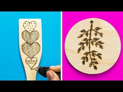 25 WOOD BURNING PATTERNS YOU`LL LOVE