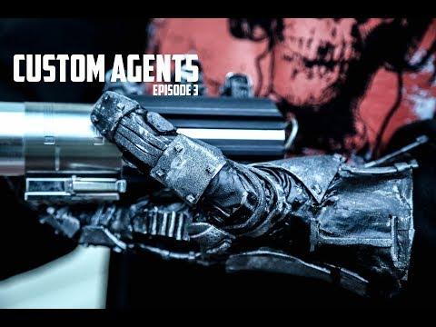 Custom Agents (Ep.3) - Luke Skywalker Robotic Hand Prop