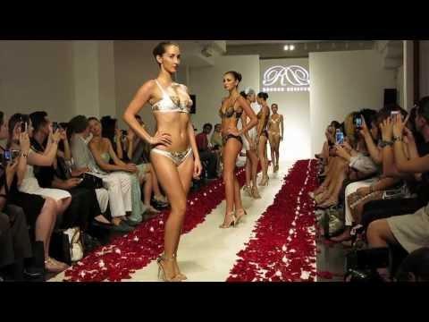 Rococo Dessous 24k Gold Lingerie Fashion Show - The Lingerie Addict
