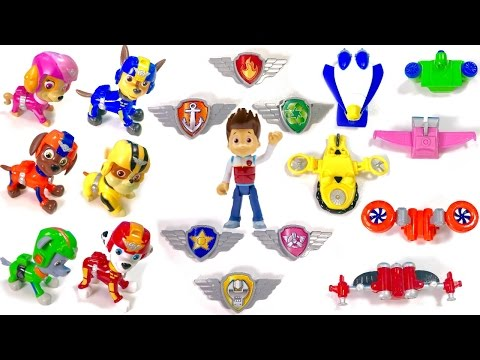 Thumbnail: Best Learning Colors Video for Children - Help Paw Patrol Match Their Air Rescue Pup Packs