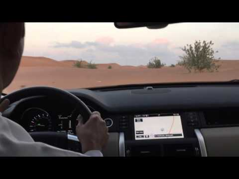 Land Rover Discovery Sport 2015 in UAE Desert taken by Majid Khalfan and Khalifa Mohamad