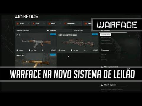 Warface NA Novo Sistema de Leilão
