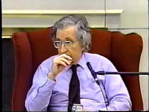 Noam Chomsky and Students at Loyola University, 19-Oct-1994 - Part 4