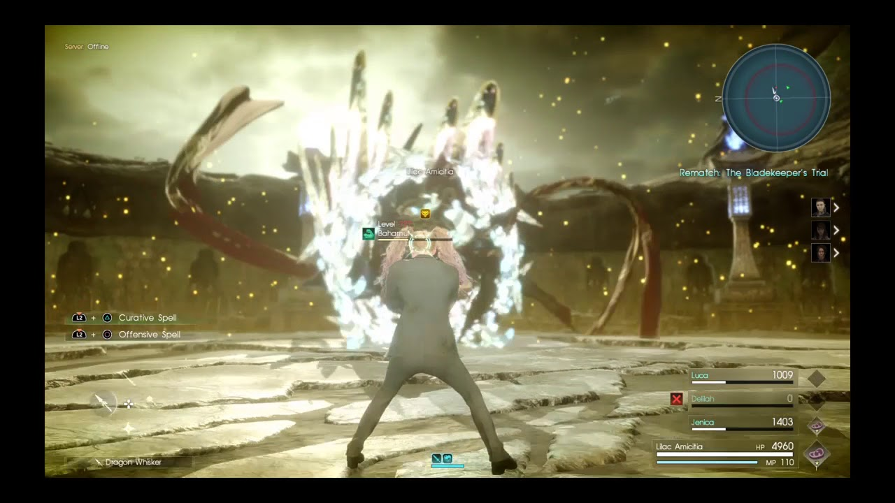 FFXV Comrades Sigil Bug/Glitch/Exploit (Patched)