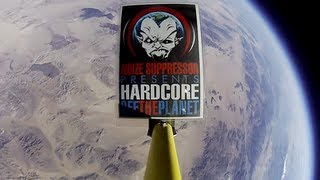 First Music played from Space! Noize Suppressor at 95,000 ft!!!