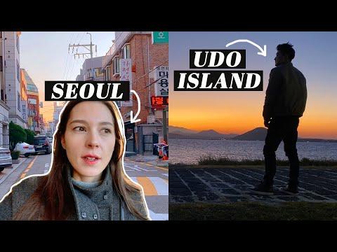 A Weekend Apart | JEJU & UDO ISLAND Solo Travel + Alone in Seoul