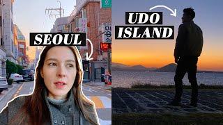 A Weekend Apart | JEJU \u0026 UDO ISLAND Solo Travel + Alone in Seoul