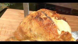 Découper un poulet rôti - 750 Grammes