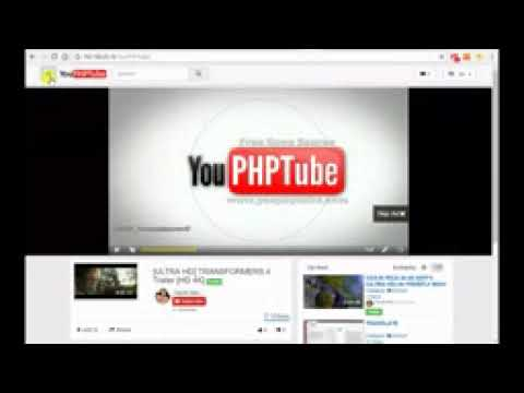 YouPHPTube Resolution Switch