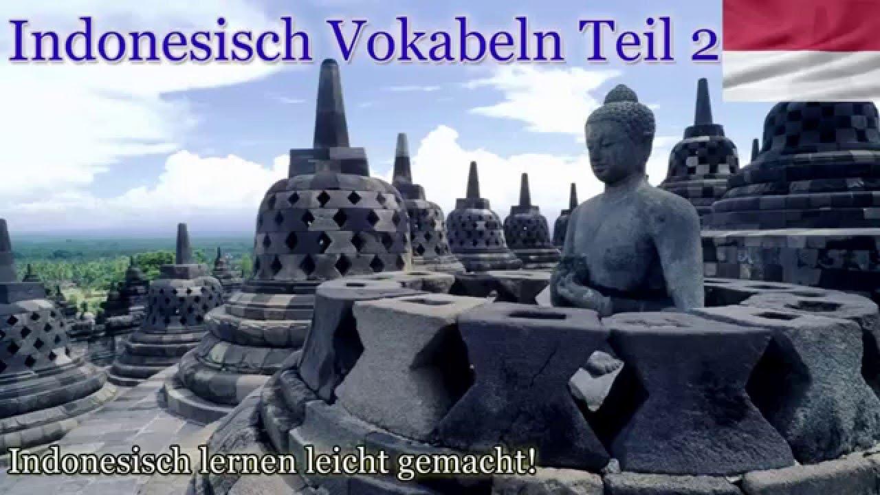 Indonesisch Lernen Für Anfänger Vokabeln Zum Nachsprechen Teil 2