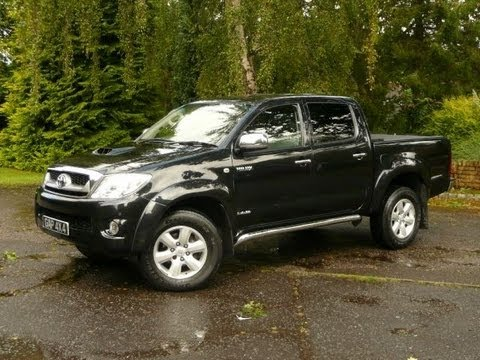 Black Toyota Hilux Invincible 30 Automatic 2009 Youtube