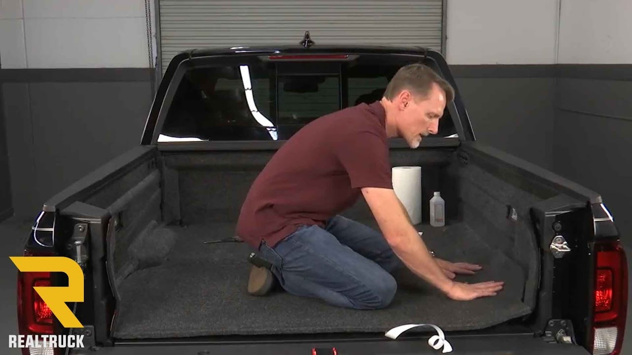 How to Install BedRug Molded Carpet Truck Bed Liners on a ...