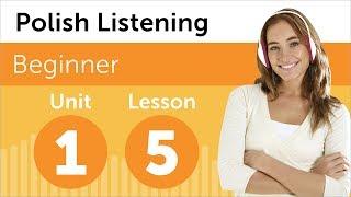 Learn Polish - Polish Listening - Discussing a New Design in Polish
