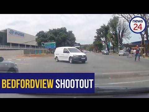WATCH: Dashcam footage emerges of Bedfordview shoot-out