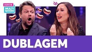 Tatá Werneck e Selton Mello DUBLAM entrevista com Caetano Veloso | Lady Night | Humor Multishow