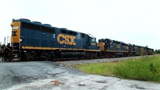 CSX Power Move Train From Start To Finish