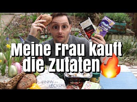 MEINE FRAU KAUFT DIE ZUTATEN | MYSTERY REZEPT | Florian Mennen
