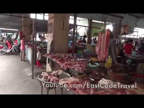 Tp Rach Gia wet market Vietnam