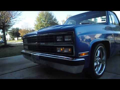 Old Chevy Truck >> My 1983 Chevy Truck c10. - YouTube