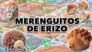 MERENGUITOS  DE ERIZO. EXPECTATIVA/REALIDAD