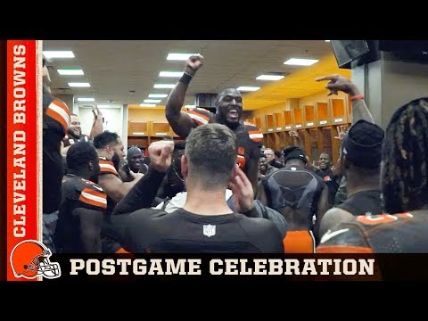 Nick Camino - Gregg Williams Browns victory speech is everything