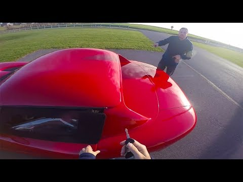Driving a Dodge Viper for the First Time