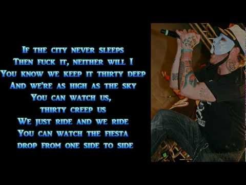 Hollywood Undead - My Town Lyrics FULL HD