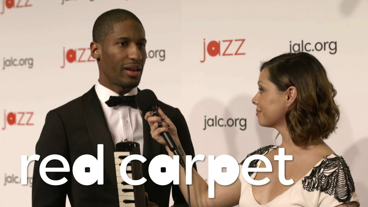 On the Red Carpet with JONATHAN BATISTE & MARCUS ROBERTS
