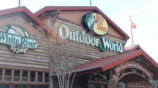 Shopping at BASS PRO SHOPS