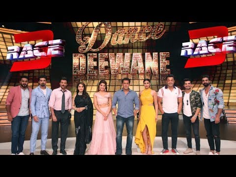Race 3 Promotion Dance Deewane | Madhuri Dixit Show At Race 3 Team | Salman Khan, Jacqueline, Bobby