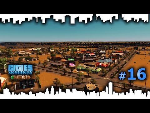 Cities Skylines Gameplay Español – CIUDAD EN EL DESIERTO #16 - GRANDES INVERSORES LLEGAN A LA REGIÓN