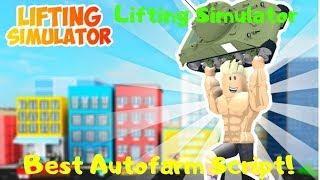 Best Autofarm Script! [Roblox Lifting Simulator]