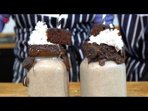 How To Make A Vegan Cookies & Cream Milkshake - BBC Good Food
