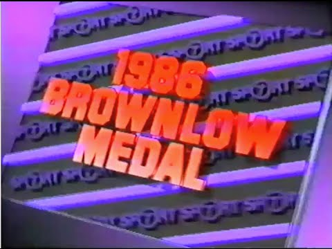 1986 Brownlow Medal - round by round highlights