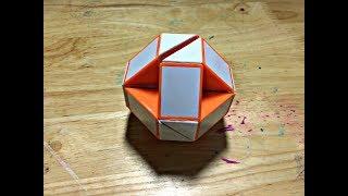 Cách làm trái bóng từ Rubik Snake