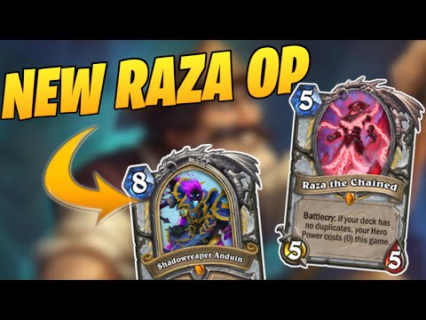 New Raza Is NUTTY | Reno Priest | Ashes Of Outland | Wild Hearthstone