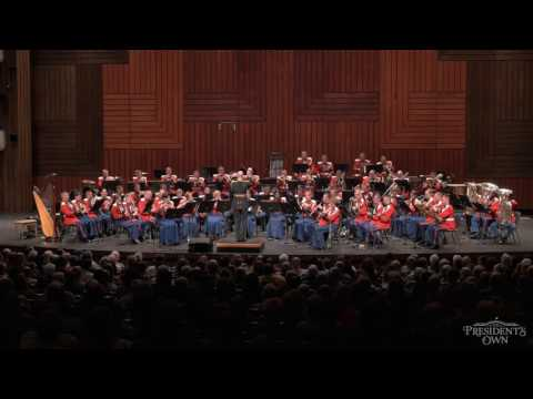"""SOUSA The National Game - """"The President's Own"""" U.S. Marine Band - Tour 2016"""