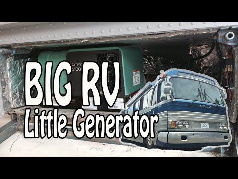 Big RV: Small Generator - Downsizing to a 2500w Propane Generator
