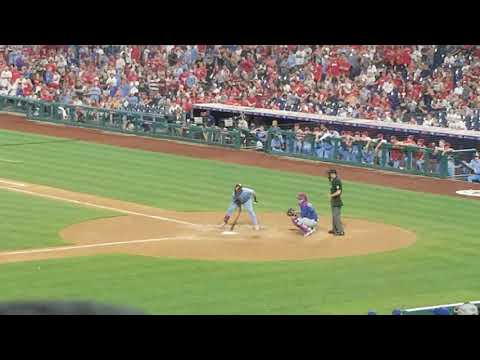 Bryce Harper insane grand slam bottom of the 9th against cubs we were there |