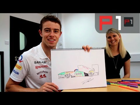 F1 Drivers get arty - Paul Di Resta