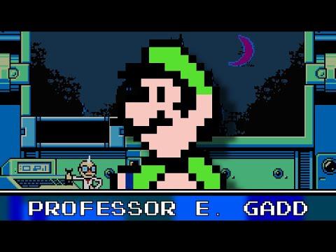 Professor E. Gadd 8 Bit - Luigi's Mansion