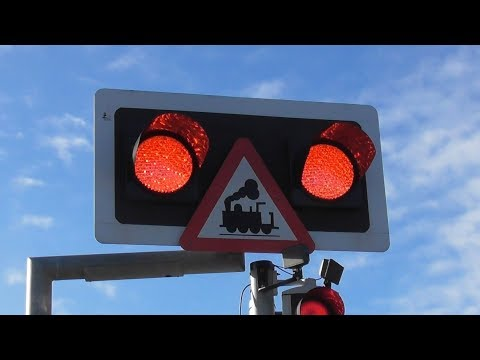 Railway Crossing - Wexford Bridge, Wexford Town, Ireland