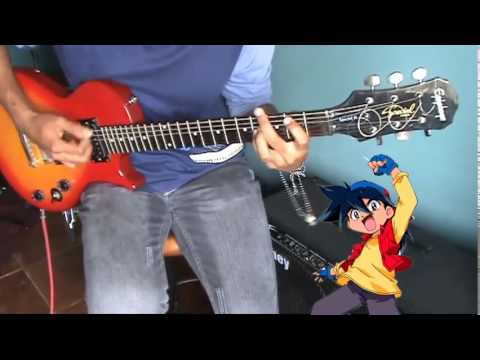 Beyblade (ベイブレード Beiburēdo) - Opening Latin Guitar Cover