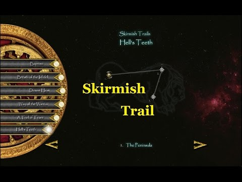 Skirmish Trail 6 Mission 1 The Peninsula - Stronghold Crusader 2 Guide