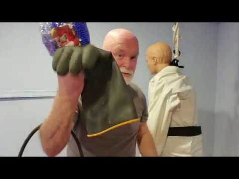 DIY Inexpensive Small Joint Manipulation Grappling Dummy Arm for Martial Arts