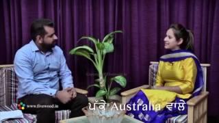 Sunanda sharma di lassi   sunanda sharma insulted on song 'patake' in live interview.