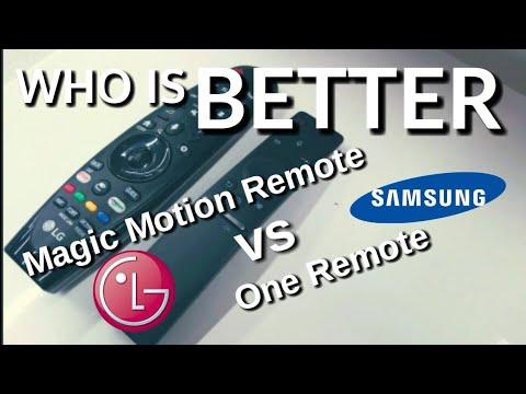 Compare!!! Remote Control LG SMART TV Vs SAMSUNG SMART TV Indonesia HD