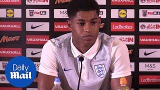 England's Marcus Rashford looks ahead to Scotland clash - Daily Mail