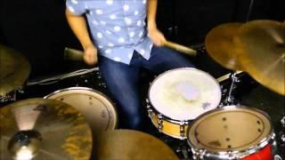 マキシマムザホルモン ぶっ生き返す ぶっ生き返す!!のドラムを叩いてみ...