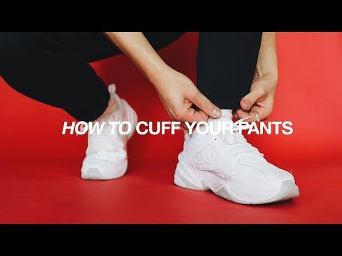 How To Cuff Your Pants / FIVE Different & Easy Ways. http://bit.ly/2zwnQ1x